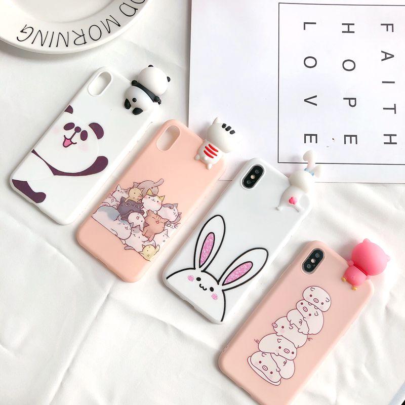 coque iphone 7 plus panda 3d