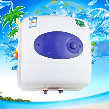 Water Heater 15L Mini Solar Water Heater Backup Electric Rapid heating Tank Storage Household Hot Water Shower Electric Instant