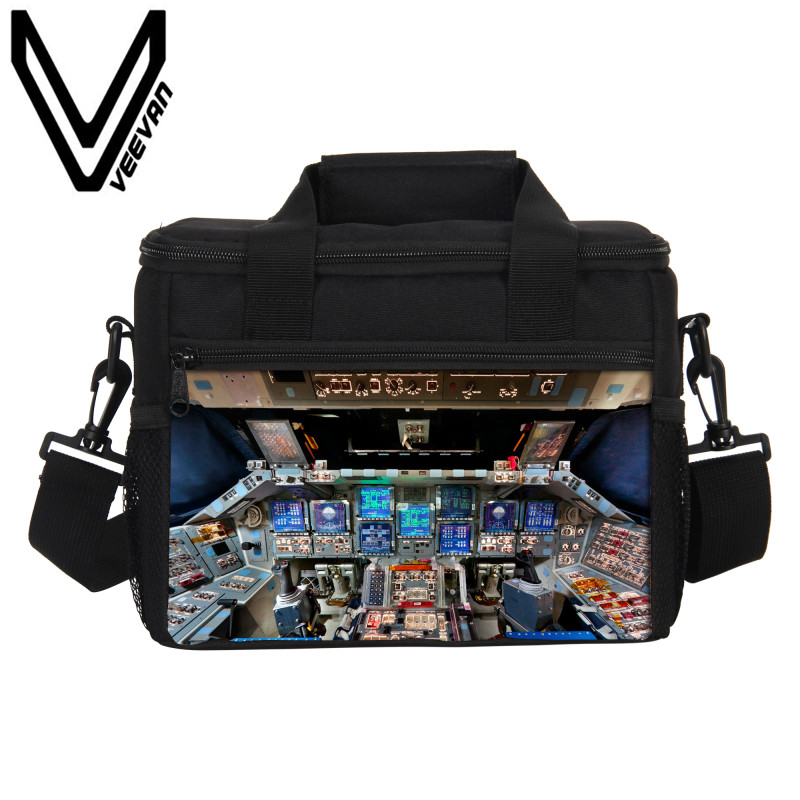 VEEVANV Aircraft Thermo Lunch Box Thermal Insulated Picnic Food Handbags Women Portable Lunch Bags Storage Container Cooler Bags