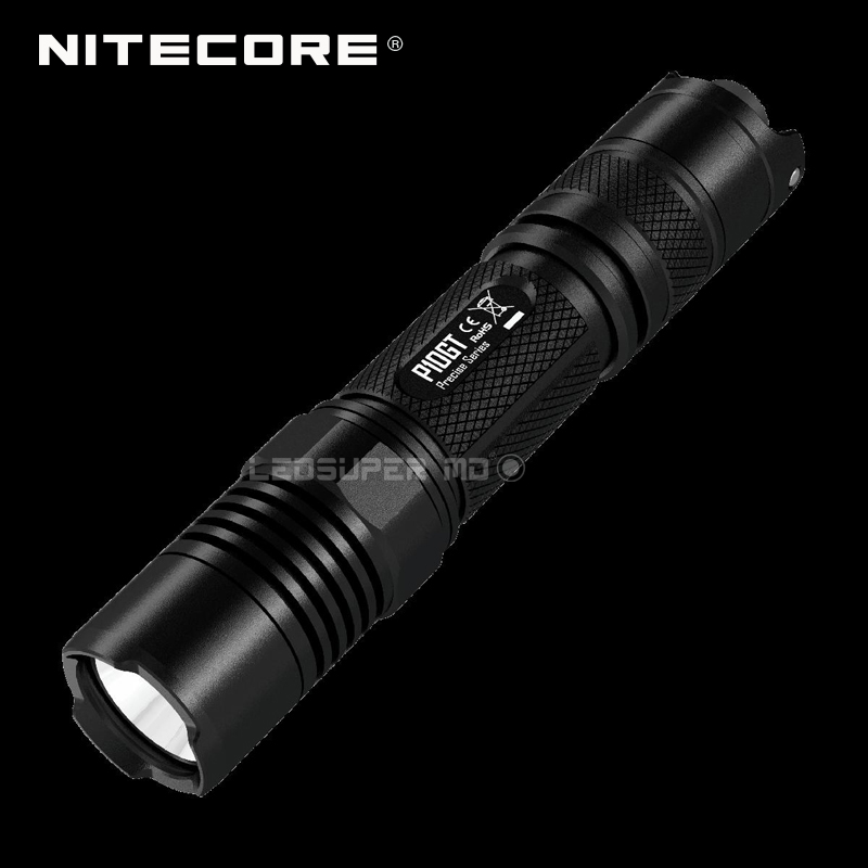 Strong-Willed Factory Price Nitecore P10gt Cree Xp-l Hi V3 Led 900 Lumens Lightweight And Portable Police Flashlight With One-handed Operation