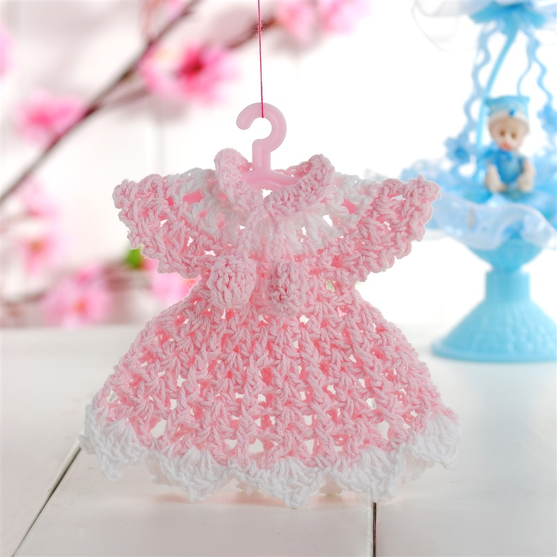 Buy mini knit clothes baby shower for Baby shower fashion decoration