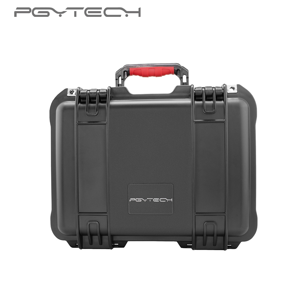 PGYTECH safety carrying case for DJI Spark Camera Drone Accessories Waterproof Hard EVA foam Equipment Carrying Fpv RC parts nylon carrying storage bag handbag travel protective case for dji spark