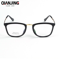 2018 New Optical Plain Mirror Full frame Student Eyeglasses Frames Men Women plastic Eye Glasses Frame for Myopia oculos de grau