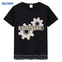 Movie Shirt Gildan Crew Neck Men Graphic Short Sleeve Engineer Engineering T Shirts