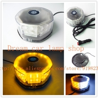 01021 High power 32 LED Waterproof Magnets Strobe Light Warning light Beacon Strobe EMERGENCY Light Blue Red amber White