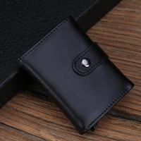 Men Wallets Short Coin Purse Small Vintage Wallet Leather Card Holder Pocket Purse Men Wallets