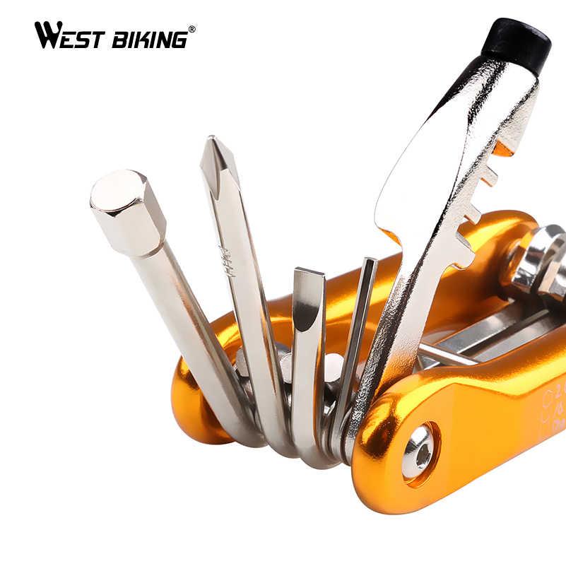 Outils de réparation de vélo multifonctions 13/10 en 1 outils de cyclisme outils de cyclisme portables Ferramentas Para kit d'outils de réparation de vélo