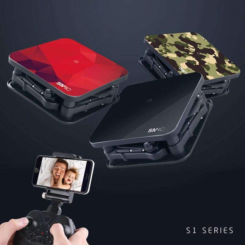 SMRC S1 mini rc drone avec hd wifi caméra de poche Selfie 2.0MP WiFi FPV En Temps Réel Hélicoptère Pliant pour Noël jouet garçon cadeau