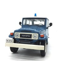 1/43 Alloy Car Model for Toyota Land Cruiser Length 9cm
