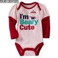 Детские Боди Baby Girl Одежда 2016 Весенняя Мода Новорожденных Боди Детские Костюмы С Длинным Рукавом Letter Pattern Детская Одежда