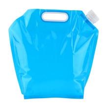 5л 10л складная сумка для воды PE безвкусное безопасное уплотнение портативный контейнер для питьевой воды сумка для хранения выживания для кемпинга пешего туризма барбекю