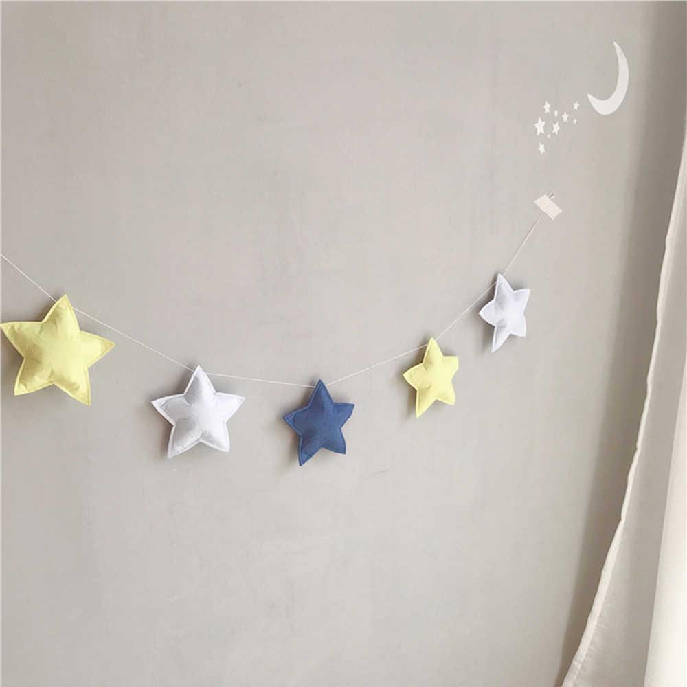 الطفل غرفة ديكور ستار الوفير الشمال Ins نمط الرضع سرير ديكور للتعليق على الحائط خيمة التصوير الدعائم الوليد الطفل الوفير