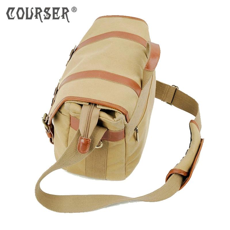 COURSERR ortable DSLR Digital SLR Camera Photo Bag Waterproof Camera Shoulder Messenger Bag+Paitition Padded for Outdoor Travel