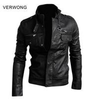 NWT Premium Men S Slim Top Designed Sexy PU Leather Short Jacket Coat Black Brown Coffee