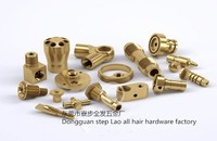 Copper brass parts with CNC machining # turning # milling , Can small orders, Providing samples