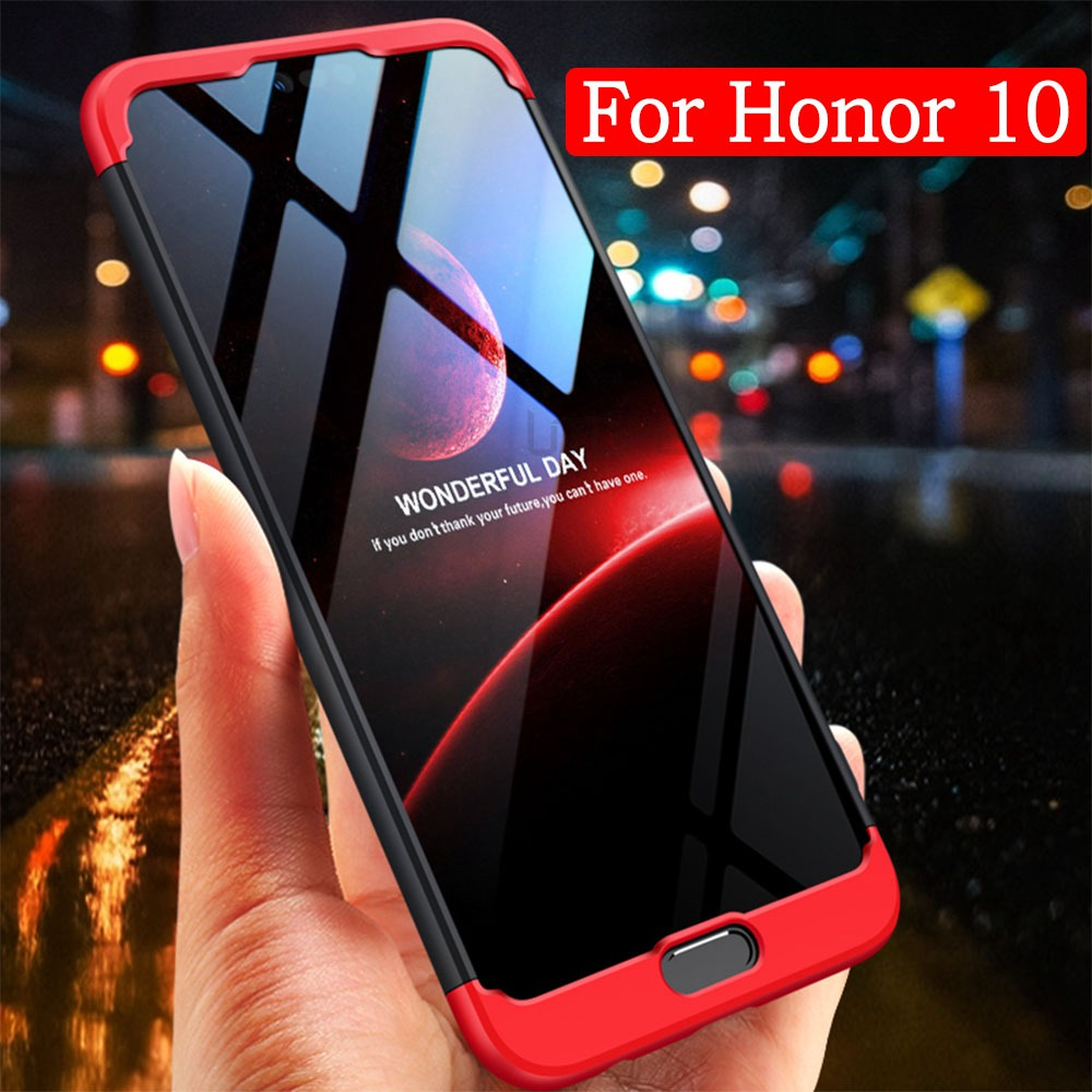 UTOPER Luxury Phone Case For Huawei Honor 10 Case Hard Hybrid Cover For Honor View 10 Coque For Honor V10 Coque Protective Shell image
