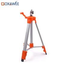 """GOXAWEE 120 см Алюминиевый сплав Стенд лазерный уровень с треножным штативом для лазерного нивелира поворотный 5/"""" нитка 2/5/12 линий лазерный уровень подставка держатель"""