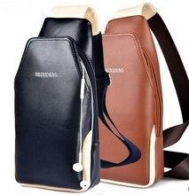 Neue Mode Für Männer Umhängetasche Trave Tasche Wasserdichte PVC mit Genunie Leder Männer Tasche Lässig Taschen Männlichen Tasche