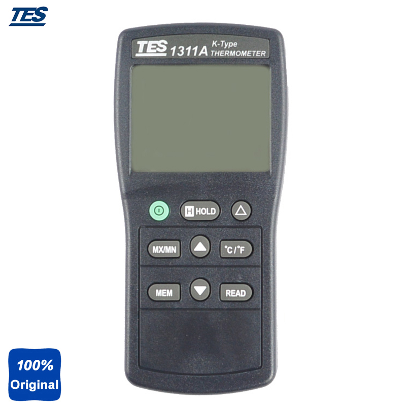 Digital Industrial K Type Thermocouple Thermometer Temperature With Backlight LCD Display TES-1311 alcatel one touch pop 3 5025d silver