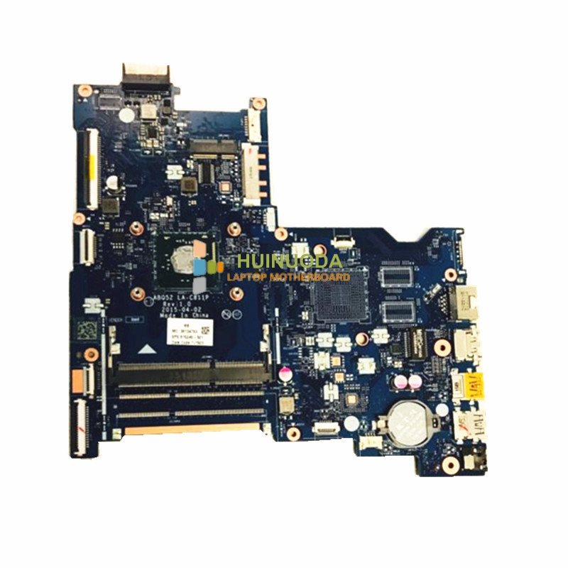 NOKOTION laptop motherboard for HP Pavilion 15-AC ABQ52 LA-C811P  CPU on board 762526 501 main board for hp pavilion 15 p day22amb6e0 laptop motherboard ddr3 am8 cpu