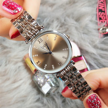 Luxury Design 2019 Fashion Casual Ladies Simple Vintage Creative Wristwatches  Gift Relogio Women Watches
