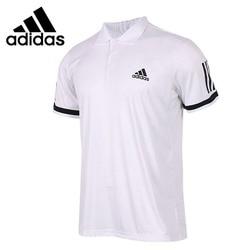 Original New Arrival  Adidas Performance CLUB 3STR Men's exercise POLO short sleeve Sportswear
