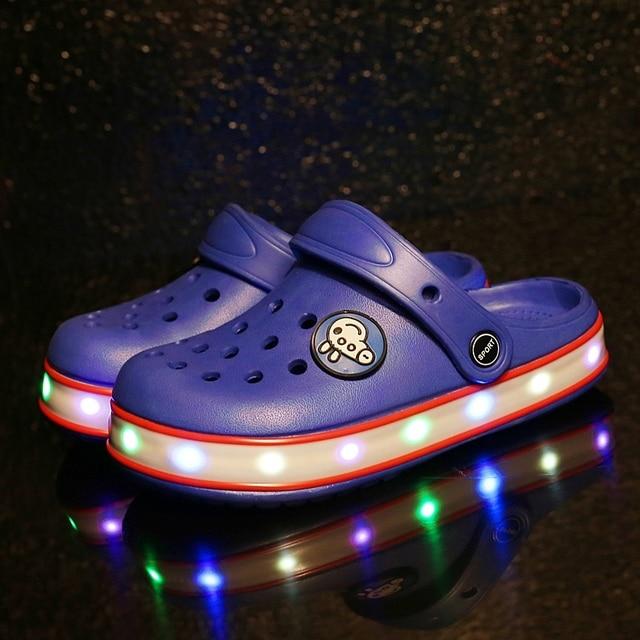 41731c0bb 2019 nuevo chicos chicas moda verano sandalias de playa zapatos para niños chanclas  Zapatillas