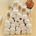80pcs High Quality Double Head Health Makeup Cosmetics Ear Clean Jewelry Clean Cotton Swab Stick