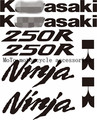 Free shipping Motorcycle Decals Sticker For Ninja 250R Motorcycle Sticker