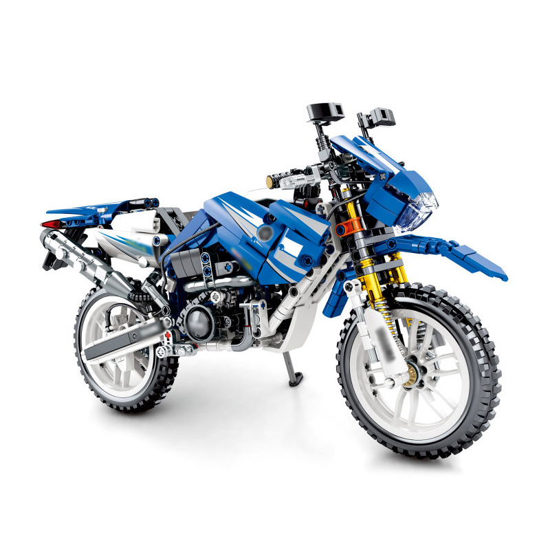 Technic YAMAHA WR250 Off-Road Motorcycle Building Blocks Motorbike Bricks Kids Toys Gifts For Children Compatible Legoings ORVTechnic YAMAHA WR250 Off-Road Motorcycle Building Blocks Motorbike Bricks Kids Toys Gifts For Children Compatible Legoings ORV