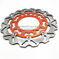 320MM Oversize Front Floating Brake Disc Rotor KTM EXC GS EXCF SX SXF SXS XC XCR XCW XCF XCRF MXC MX SMR SIX DAYS Supermoto