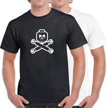 Lego Pirate Head Skull & Crossbones 100% Cotton T-Shirt S - 5XL Multiple Colours New T Shirts Funny Tops Tee Unisex