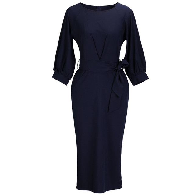 Women's Chiffon Office Wear Dress