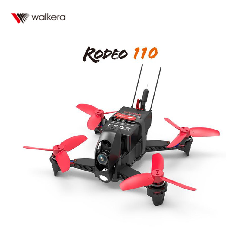 Hot sale Walkera Rodeo 110 110mm FPV Racing Drone w/ 600TVL HD Camera 5.8GHz 40CH Transmission BNF RTF RC Multicopter Drone
