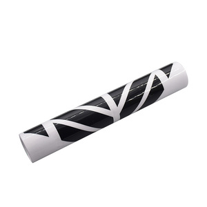 Image 5 - 2pcs Tuning Whole Body Door Car Vinyl Car Stickers and Decals Sports Racing Auto Decal Sticker Car Accessories