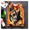 Chandal hombre Hot 2015 Winter loose season personality spoof street clothing long hoodies assassins creed 3d skulls sweatshirt