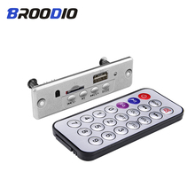 MP3 Player Lossless Decoder Board 5V 3W Amplifier Stereo MP3 WAV Decoding USB TF FM Radio Module With Remote Control For Speaker portable mp3 music player yescool px pg50 8gb professional hifi stereo lossless tf expandable audiophile full format decoding