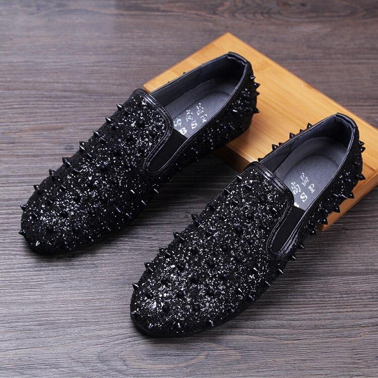Mocassins Chaussures Rivet Hombre 03 02 Mocassin Zapatos En 01 Paillettes Cuir D'été Slip Plat Conduite Casual Homme On Hommes xHnqRwgY