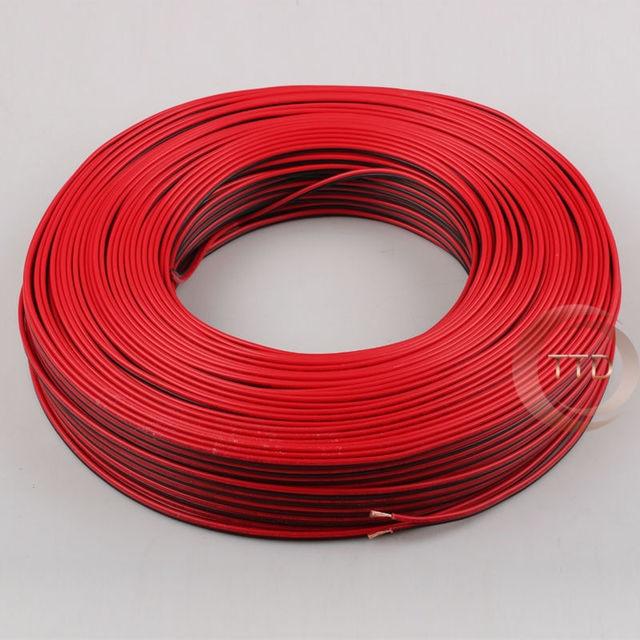 1 mt 2 mt 3 mt 5 mt 10 mt 18AWG, 2pin Rot Schwarz kabel, pvc ...