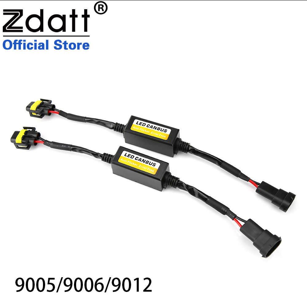 Zdatt H4 H7 Led Headlights Canubs Decoder debugger adapter Analyzer USB H1 H8 H9 H11 9005 HB3 9006 HB4 No Error Universal