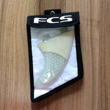 NEW BAMBOO and fiberglass FCS G5 PINK fin with bags