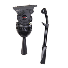 лучшая цена miliboo M15 Professional Tripod Head for Broadcast Moving Shooting Load -Bearing 20 kg