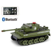 RC Fighting Battle Tank 1:32 Phone Control Simulated Panzer Mini Battling Tank Remote Control Toys for Kids, Boys