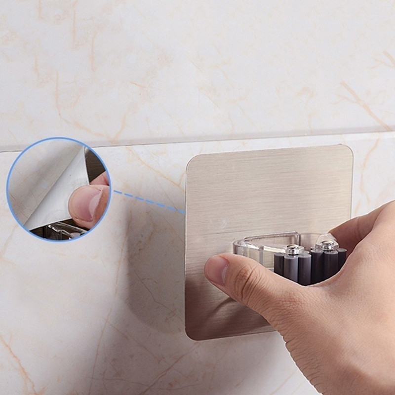Strong Wall Hook Multi-Purpose Hooks Key Holder hanger Kitchen Bathroom Hooks Crochet Suction Cup Nail-free Mop Clip Card Holder 14