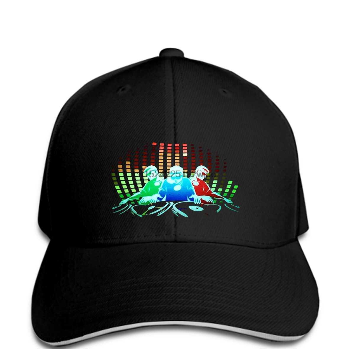 Người đàn ông mũ Bóng Chày Pin Điều Khiển DJ Âm Thanh Kích Hoạt Ánh Sáng Up Đảng Flashing Disco EL LED mới lạ cap phụ nữ