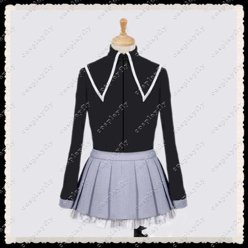 Aliexpress.com  Comprar Puella Magi Madoka Magica Homura Akemi Cosplay  traje de vestido de fiesta falda mujeres falda de traje (C0050) de homura  akemi ... 5da9035cc01f