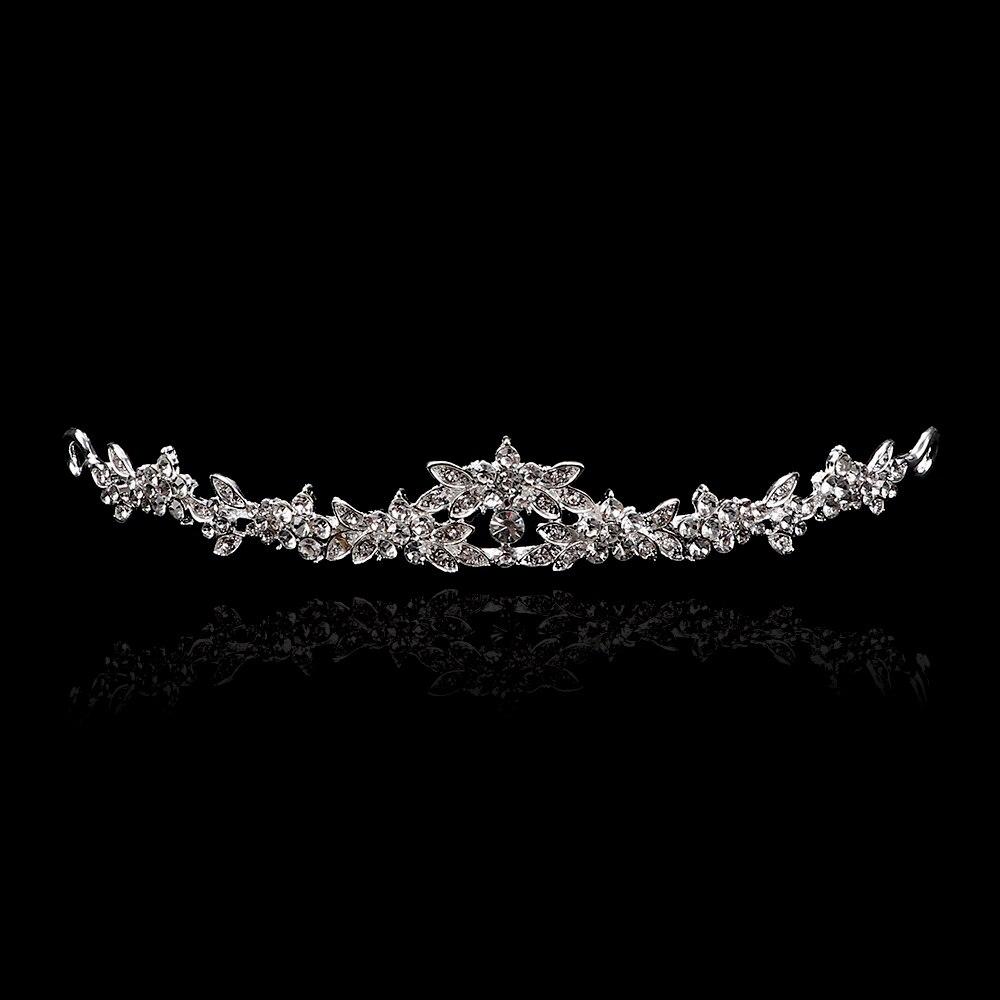 Kopfstück der Braut Haarspangen von Schmetterlingen Haarnadeln aus Metall