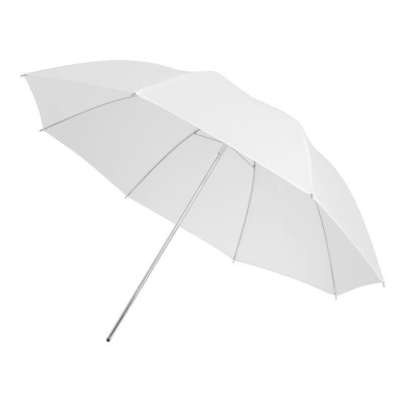 cheapest 33inch Studio Photo Standard Flash Diffuser Translucent Soft Light White Umbrella