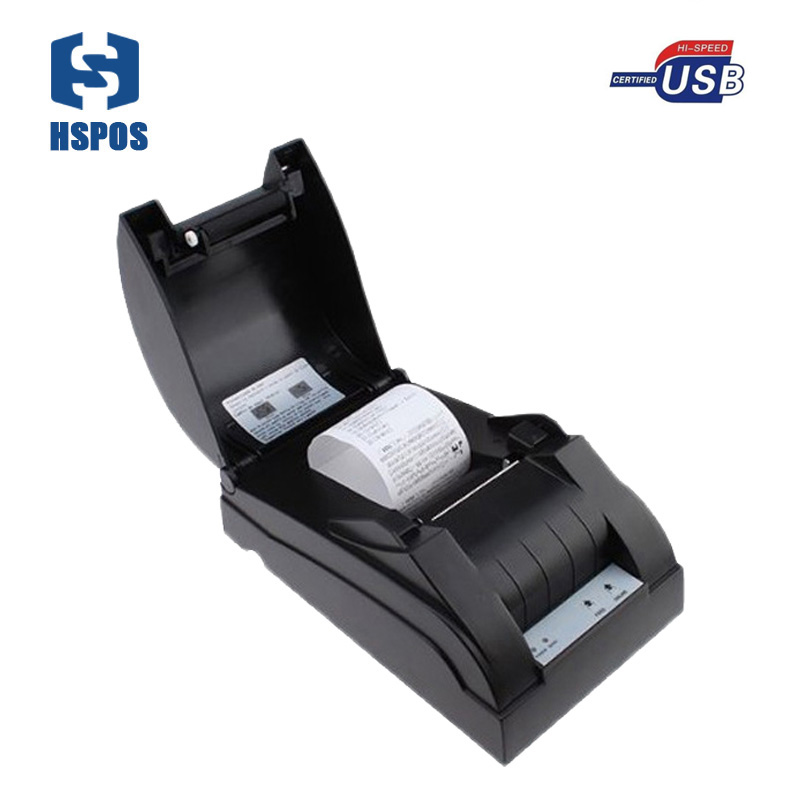 58mm pos arabic receipt printer with usb interface 100km printer head life thermal ticket printer support multiple languages usb interface 58mm pos receipt printer thermal printing with power supply built in free shipping