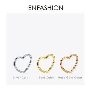Image 5 - ENFASHION Bracelets cœur pour femmes, accessoires, bracelet en laiton de couleur or, bijoux à la mode, cadeaux pour amis, BC2006, 2020